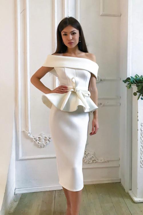 Платье По Колено Как Называется