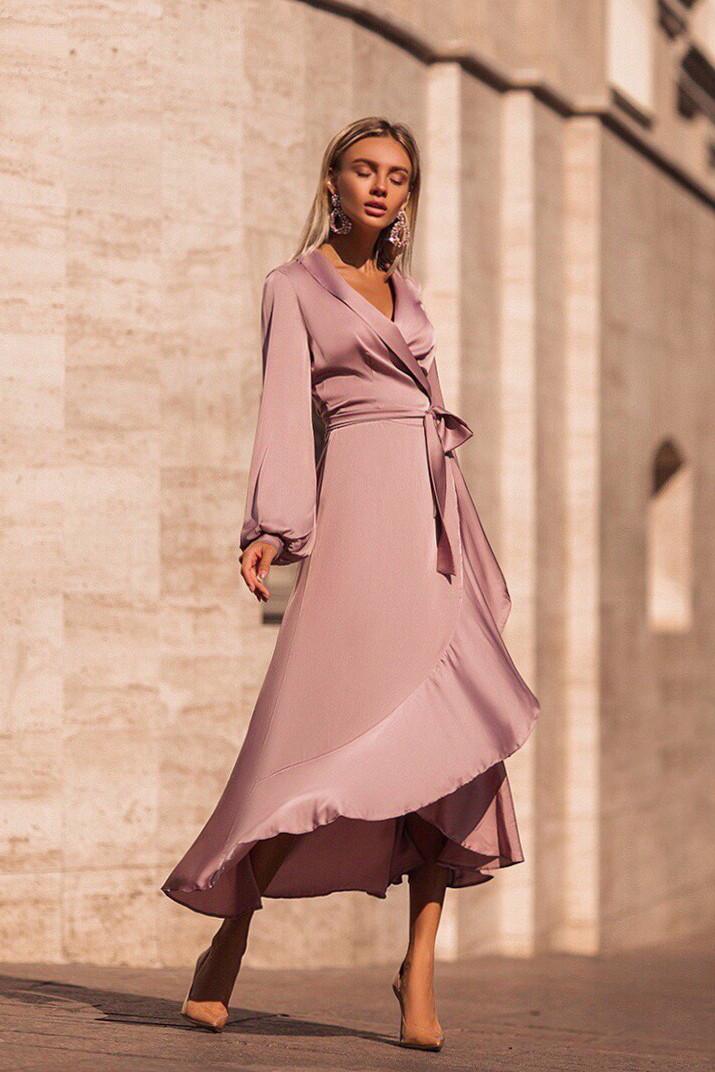 Нежные Миди Платье