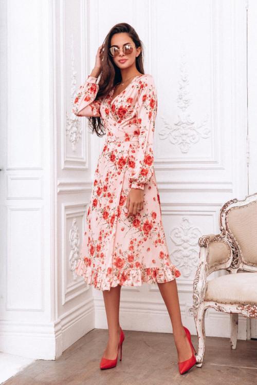 Платье Миди Купить В Москве Недорого